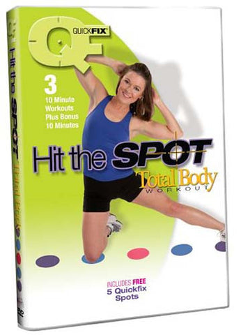 Quick Fix - Hit the Spot Total Body Workout DVD Movie