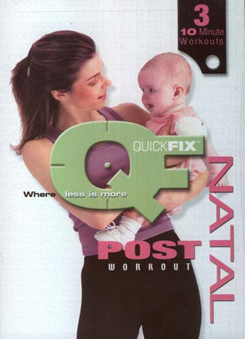 Quick Fix - Post Natal Workout DVD Movie