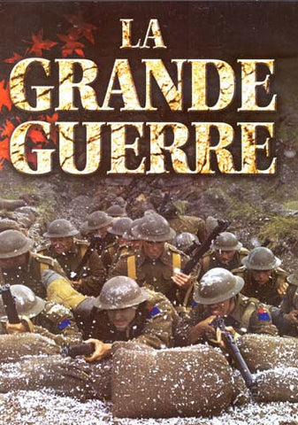 La Grande Guerre DVD Movie