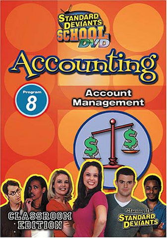 Standard Deviants School - Accounting - Program 8 - Account Management (Classroom Edition) DVD Movie