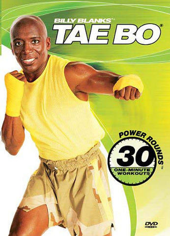 Billy Blanks - Tae Bo - Power Rounds 30 One Minute Workouts DVD Movie