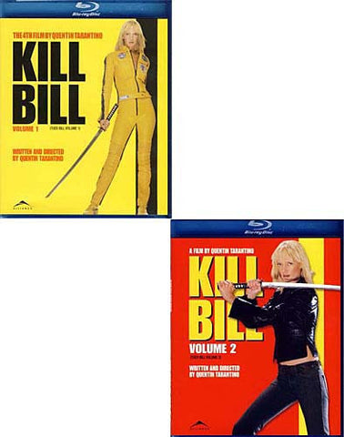 Kill Bill - Volumes 1 And 2 (Blu-ray) (2 Pack) BLU-RAY Movie