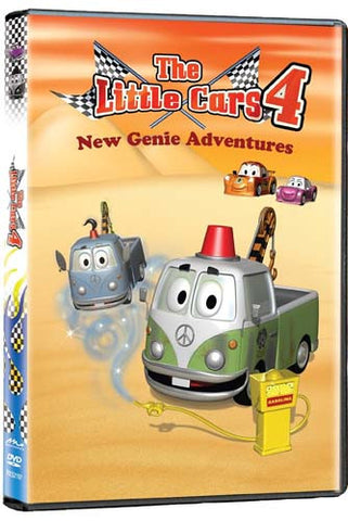 The Little Cars 4 - New Genie Adventures DVD Movie
