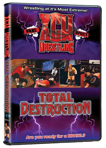 XCW Wrestling - Total Destruction DVD Movie