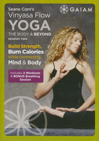 Seane Corn - Vinyasa Flow Yoga - The Body And Beyond - Session Two (Beginner II/Intermediate I) DVD Movie