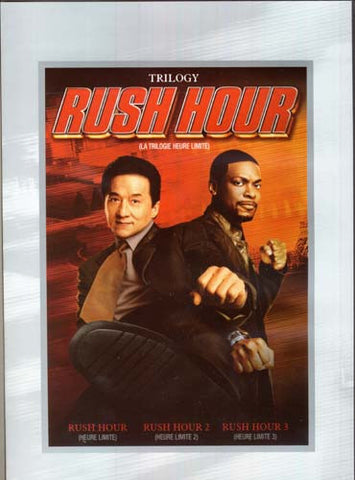 Rush Hour Trilogy (Rush Hour 1, 2 And 3) (Widescreen/Fullscreen)(Bilingual) DVD Movie