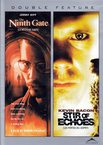 The Ninth Gate/Stir of Echoes (Double Feature) (Bilingual) DVD Movie