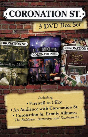 Coronation Street - 3 DVD Box Set (Boxset) DVD Movie