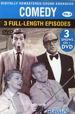 Comedy - Volume. 4 - 3 Full-Length Episodes DVD Movie