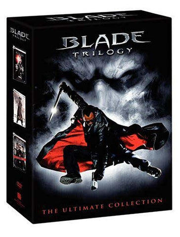 Blade Trilogy (Blade/ Blade II/ Blade: Trinity)(Triple Feature) (Boxset) DVD Movie