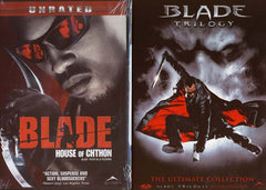The Blade Trilogy (Blade/ Blade II/ Blade: Trinity)/Blade - House of Chthon (2 - Pack) (Boxset)