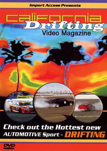 California Drifting DVD Movie
