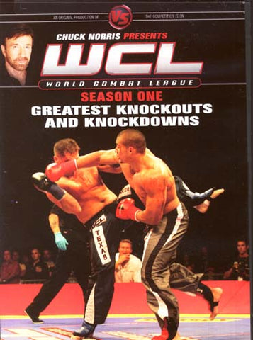 Chuck Norris Presents WCL - Season One Greatest Knockouts and Knockdowns DVD Movie