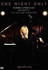 Barbra Streisand Live At The Village Vanguard - One Night Only