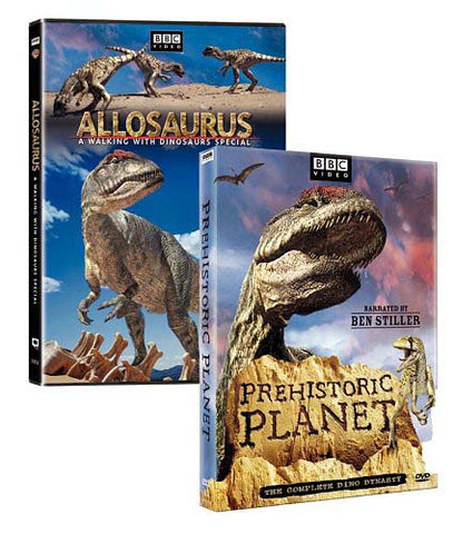 Prehistoric Planet/Allosaurus - A Walking With Dinosaurs Special (2 - Pack) (Boxset) DVD Movie