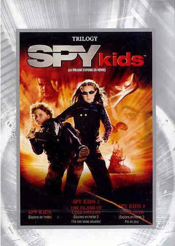 Spy Kids Trilogy - Spy Kids 1, 2, 3 (Triple Feature) (Fullscreen) DVD Movie
