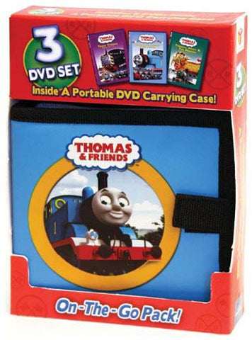 Thomas And Friends - On-The-Go Pack (Three Disc Set)(Inside A Portable DVD Carring Case) (Boxset) DVD Movie