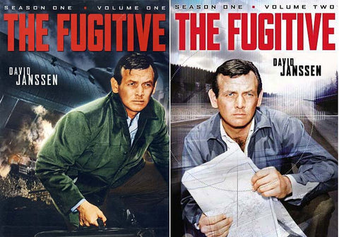 The Fugitive - Season One Volume One (Boxset) / Season One Volume Two (Boxset) (2 Pack) DVD Movie