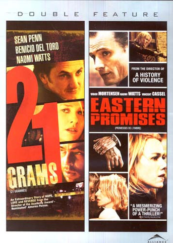 21 Grams/Eastern Promises (Double Feature) (Bilingual) DVD Movie