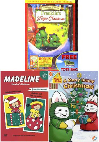 Animation Christmas Pack (Franklin/Madeline/Max and Ruby) (3 Pack) DVD Movie