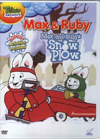 Max and Ruby - Max and Ruby's Snow Plow DVD Movie