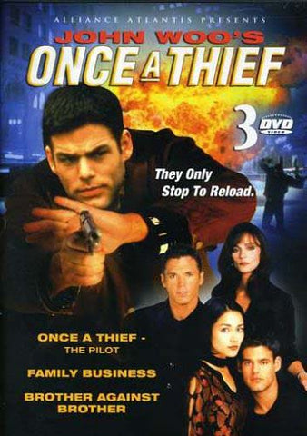 John Woo s - Once A Thief / Family Business / Brother Against Brother DVD Movie