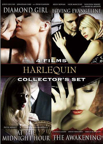 Harlequin Collector's Set-Diamond Girl/Loving Evangeline/At The Midnight Hour/The Awakening (Vol. 2) DVD Movie