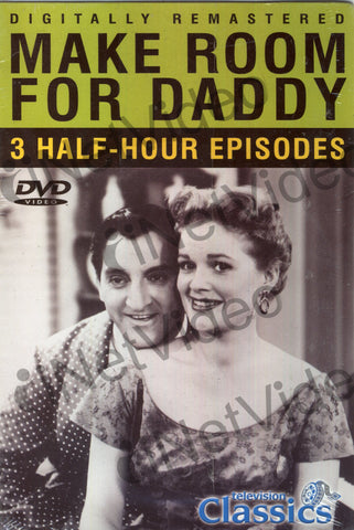 Make Room for Daddy - 3 Episodes - Children's Governess; A Trip to Wisconsin; Little League DVD Movie