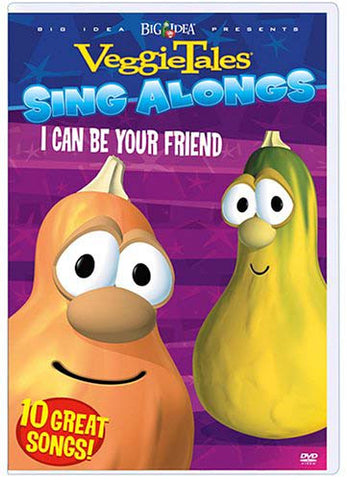 VeggieTales Sing Alongs - I Can Be Your Friend DVD Movie