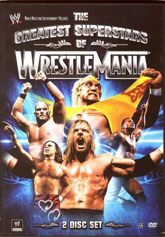 WWE Presents: The Greatest Superstars Of Wrestlemania DVD Movie