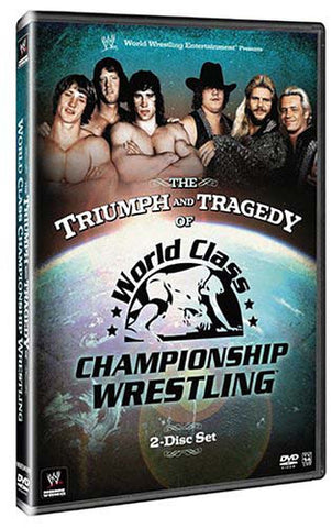 The Triumph and Tragedy of World Class Championship Wrestling DVD Movie