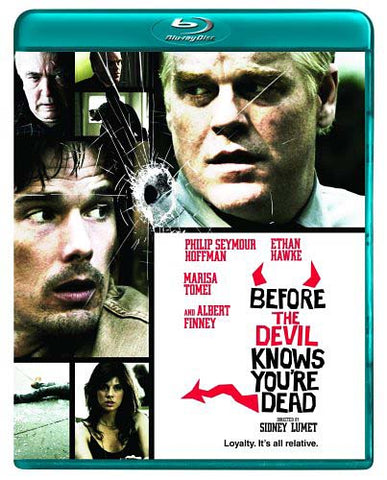 Before the Devil Knows You're Dead (Blu-ray) BLU-RAY Movie