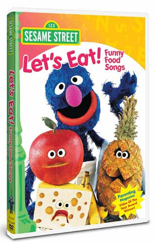 Let's Eat! Funny Food Songs - Sesame Street DVD Movie