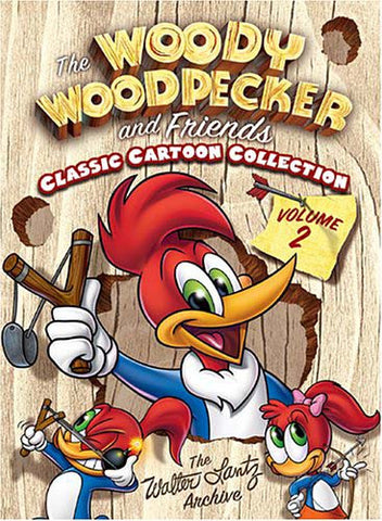 The Woody Woodpecker and Friends Classic Cartoon Collection - Volume 2 (Boxset) DVD Movie