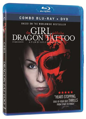 The Girl with the Dragon Tattoo (DVD+Blu-ray Combo) (Blu-ray) (English Dubbed Version) BLU-RAY Movie