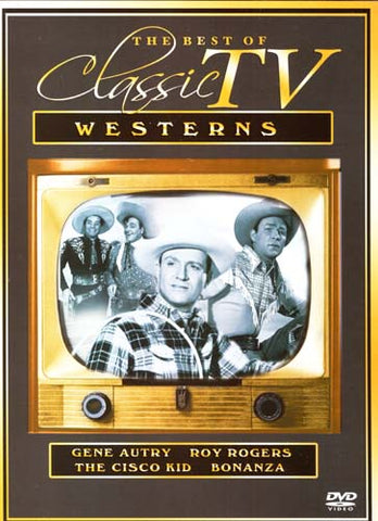 The Best Of Classic TV Westerns (Gene Aurty, Roy Rogers, The Cisco Kid, Bonanza) DVD Movie
