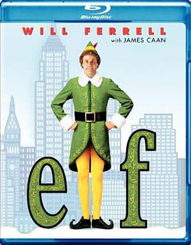 Elf (Bilingual) (Blu-ray) BLU-RAY Movie