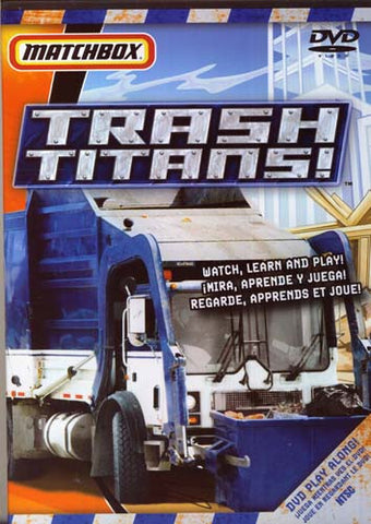 Trash Titans DVD Movie