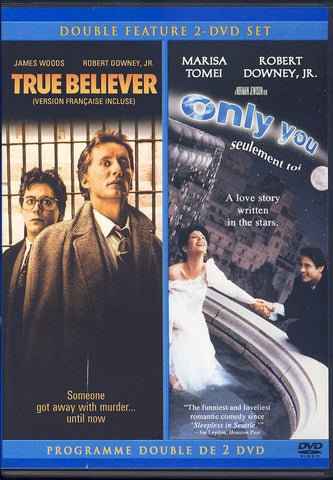 True Believer / Only You (Double Feature) (Bilingual) DVD Movie