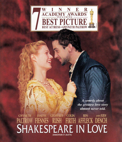 Shakespeare in Love (Blu-ray) (Bilingual) BLU-RAY Movie