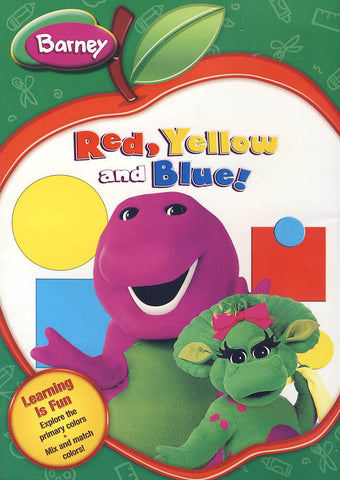 Barney - Red, Yellow and Blue DVD Movie