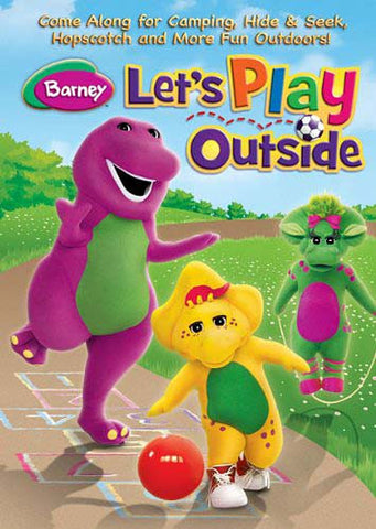 Barney - Let s Play Outside DVD Movie