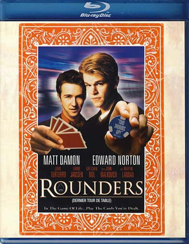 Rounders (Blu-ray) BLU-RAY Movie