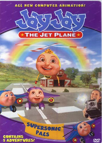 Jay Jay the Jet Plane - Supersonic Pals DVD Movie