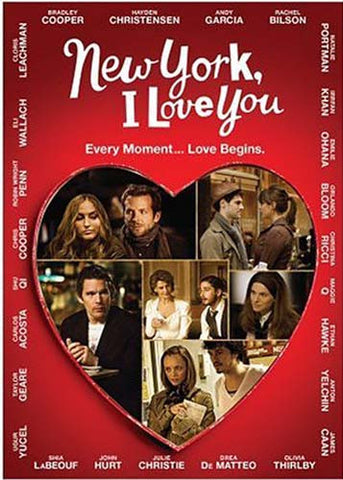 New York, I Love You (Bilingual) DVD Movie