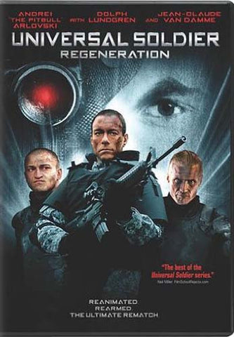 Universal Soldier - Regeneration(Bilingual) DVD Movie