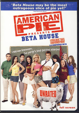 American Pie Presents - Beta House (Unrated) (Fullscreen) (Bilingual) DVD Movie