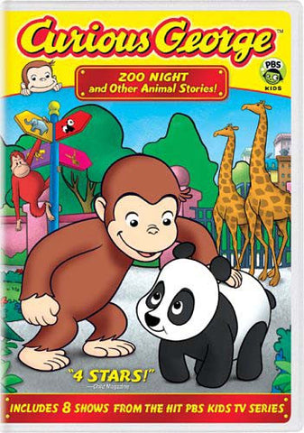 Curious George - Zoo Night And Other Animal Stories DVD Movie