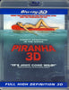 Piranha 3D (Blu-ray) (Full High Definition 3D Version) BLU-RAY Movie