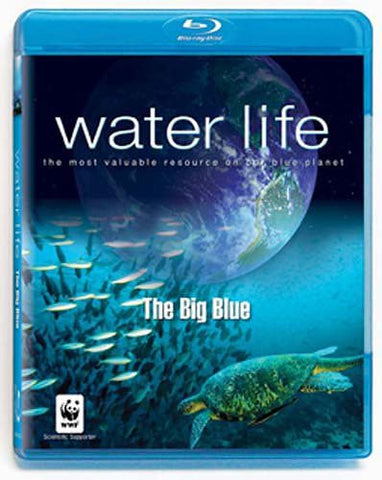 Water Life - The Big Blue (Blu-ray) BLU-RAY Movie